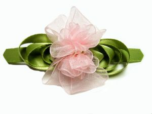 Romantic Rose Hair Bow Tutorial