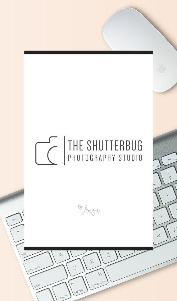 Logotipo de la cámara. Diseño de logotipo simple por CreativeKiosk