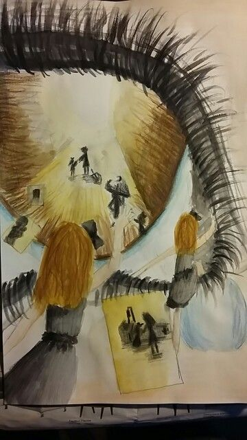 flarden van een dagdroom #aquarel #painting #art #fantasy #daydream #losingsomeone #drawing #drawingoftheweek #creativemind #inspiration #memories