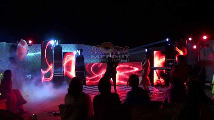 Dj Rock Meerut Designer Led Video Wall Dj Setup