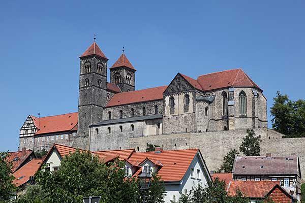 Quedlinburg - Stiftskirche und Schlossberg