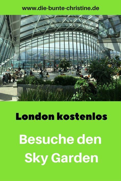 "Sky Garden London: Lohnende Alternative zu ""The Shard"