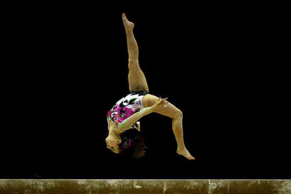 FIG Artistic Gymnastics Olympic Qualification - LOCOG Test Event for London 2012: Day Four - Carlotta Ferlito