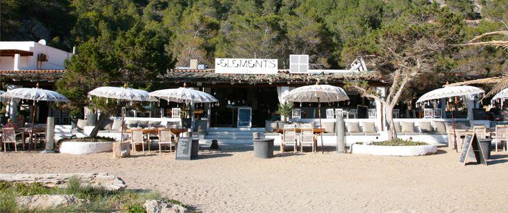 Elements beach restaurant . View from the beach. Photo by Kiko