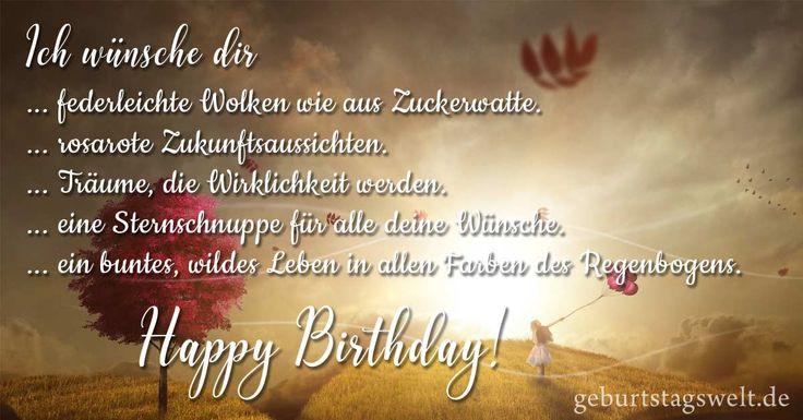 Geburtstagswünsche Zum 30