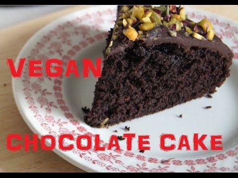 BEST EVER Vegan Chocolate Cake Recipe - Nigella Lawson - http://veganvideorecipes.com/best-ever-vegan-chocolate-cake-recipe-nigella-lawson/