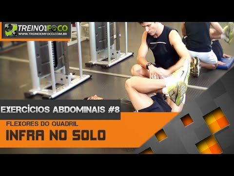 Exercícios Abdominais #8 - Infraumbilical no solo - Abdominal inferior - YouTube