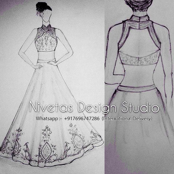 137 best Fashion sketches images on Pinterest | Fashion drawings ...