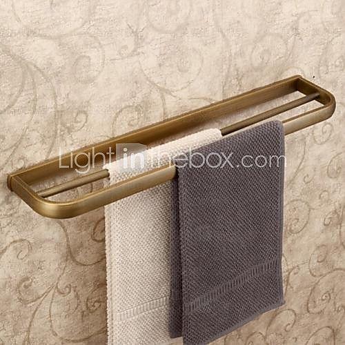 Antique Brass Finish Brass Material Towel Bars - USD $ 53.99
