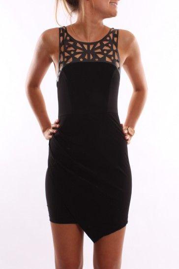 Laser Light Dress Black - Dresses - Shop by Product - Womens