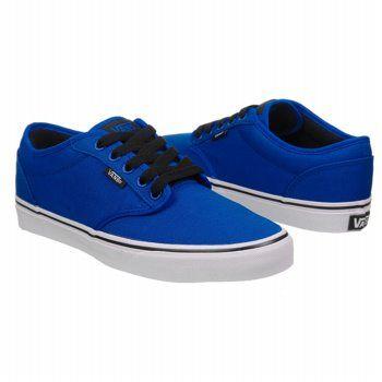 Athletics Vans Men's Atwood Blue/Black FamousFootwear.com