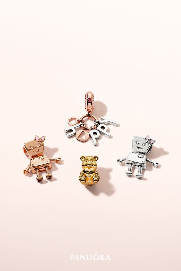fb8125c609565 Express your playful side with collectable PANDORA friends #BellaBot ...