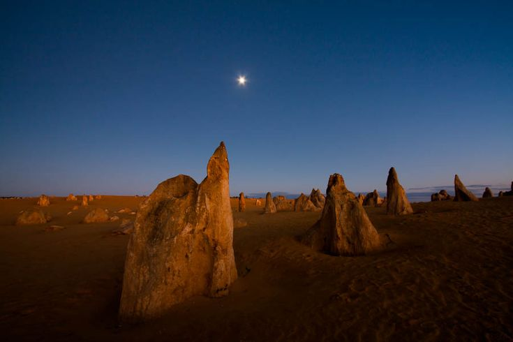 The Pinnacles - Dawn. Northern Territory
