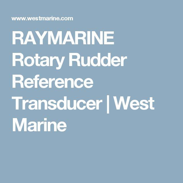 RAYMARINE Rotary Rudder Reference Transducer | West Marine