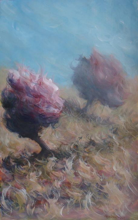 Acrylics on canvas 60x80cm