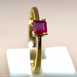 925 Sterling Silver Jewellery  Ruby Silver Ring    shopping.ebizz@gmail.com