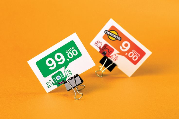 Cartellini prezzi