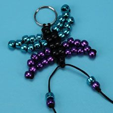 Butterfly Bead Pet - step by step photo tutorial