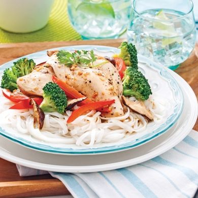 Papillotes de poulet à l'asiatique - Recettes - Cuisine et nutrition - Pratico Pratique