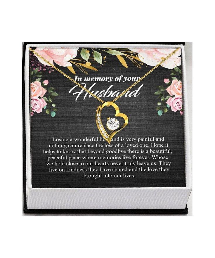 Bereavement gift memorial gift husband loss of husband