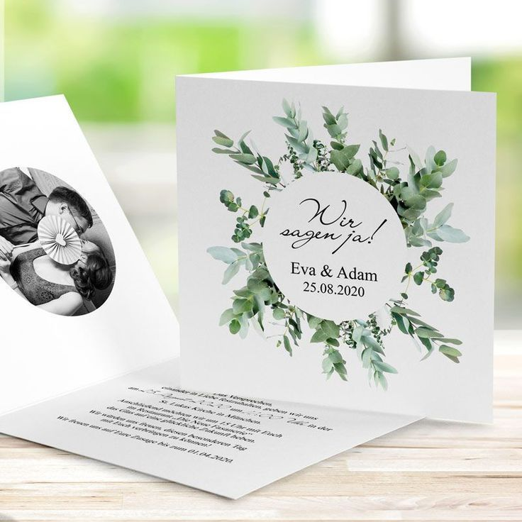 Hochzeitspapeterie Im Greenery Design Dankeskarten Hochzeit 2019 Karte Hochzeit Einladungskarten Hochzeit Romantische Hochzeitseinladungen