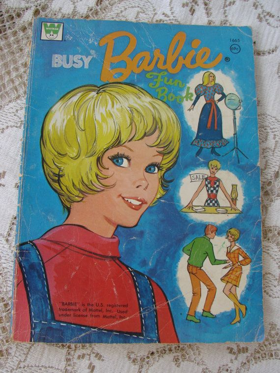 1000 Images About Barbie Coloring Books On Pinterest