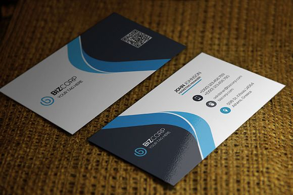Corporate Business Card by ASKDziner on @creativemarket