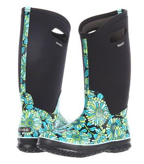 You'll Be Longing for Grey Skies When You See These Women's Rain Boots: Bogs: Fun and Functional