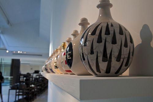 #Museo internazionale della ceramica a #Faenza opere di #Mimmo #Paladino © #WilderBiral All Rights Reserved DO NOT use or reproduce without permission. Thanks
