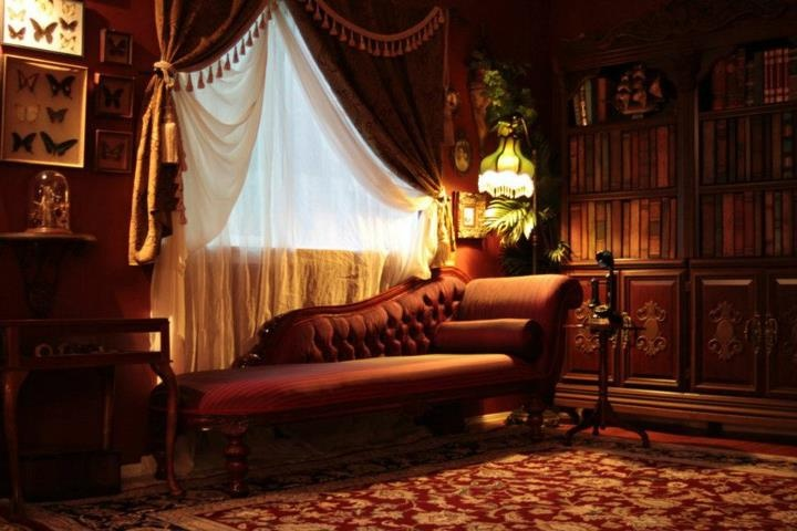 Steampunk living room by kato inspiration interior for Steampunk living room ideas
