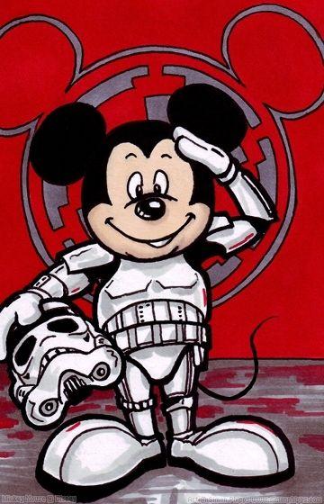 501st Stormtrooper Mickey