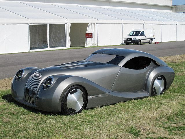 Hydrogen Fuel Cell Powered Car by Morgan Motor Company