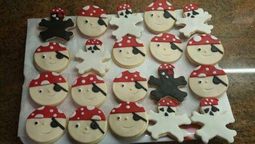 Pirate sugar cookied