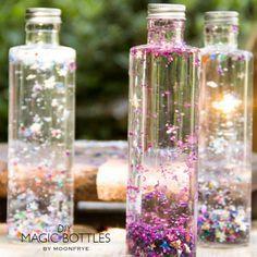 Erstellen Sie einige Feenzauber mit DIY magische Flaschen.