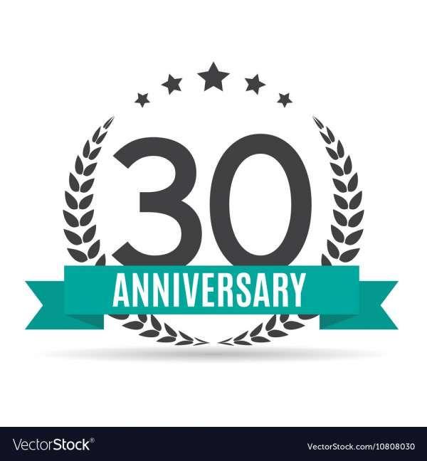 10 30 Years Anniversary Logo 30 Year Anniversary Anniversary Logo 16th Anniversary