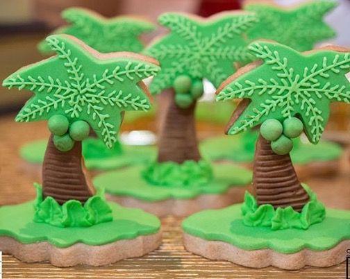 Palms cookies