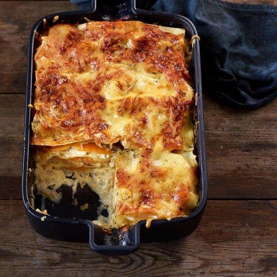 ESSEN & TRINKEN - Kürbis-Sauerkraut-Lasagne Rezept