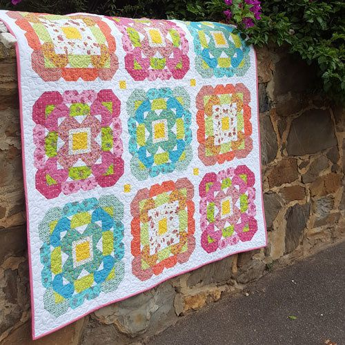 """""""Blossom Love"""" designed by Sharon Burgess for Lilabelle Lane."""