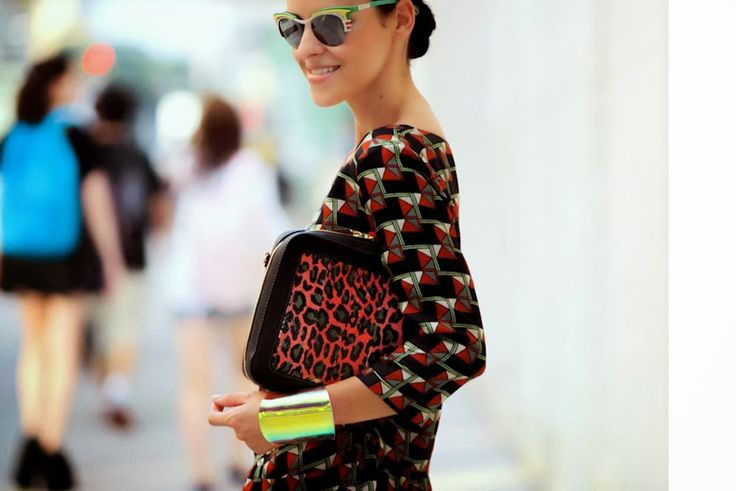 TREND GUIDE - PART 1 CLUTCH ANIMAL PRINT STREET STYLE ACTION