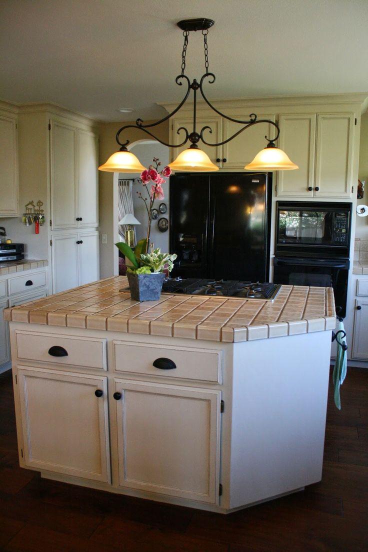 Einfache Malerei Moderne Küche ohne Schleifen
