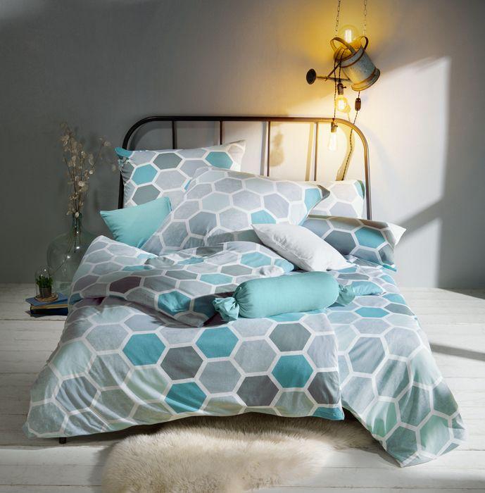 Wir Sind Ganz Verliebt In Diese Moderne Bettwasche Fische Farben