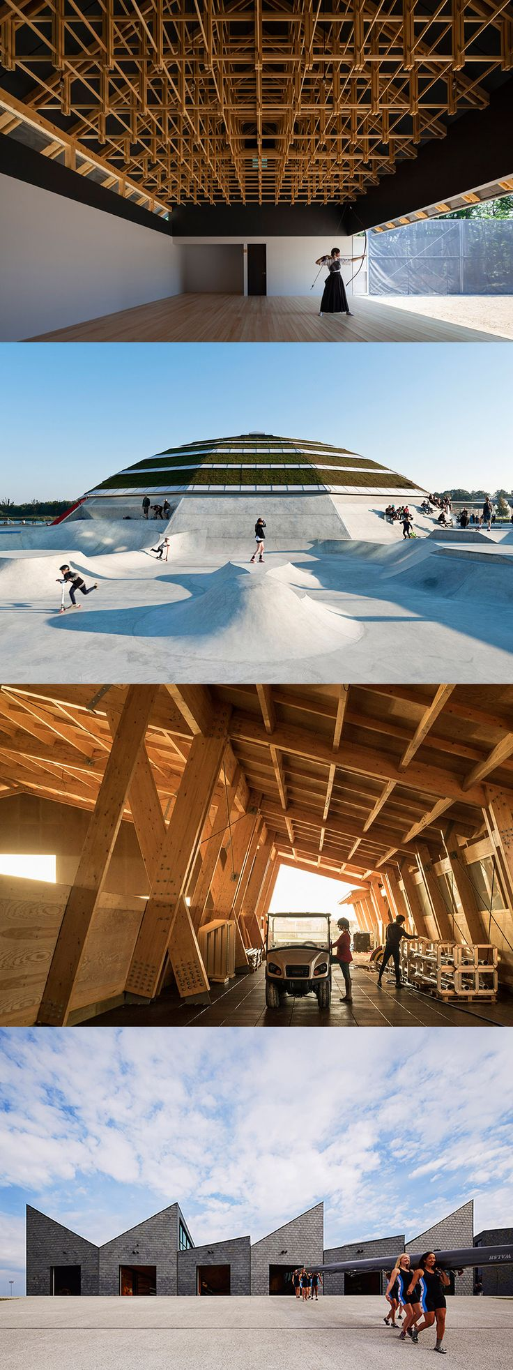 Temples of Sport: 10 incredible works of sports facility design from around the…