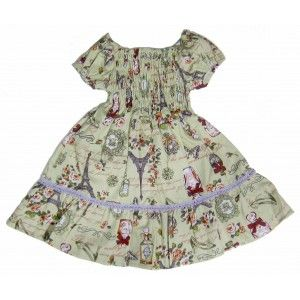 Paris Design Toddler Dress