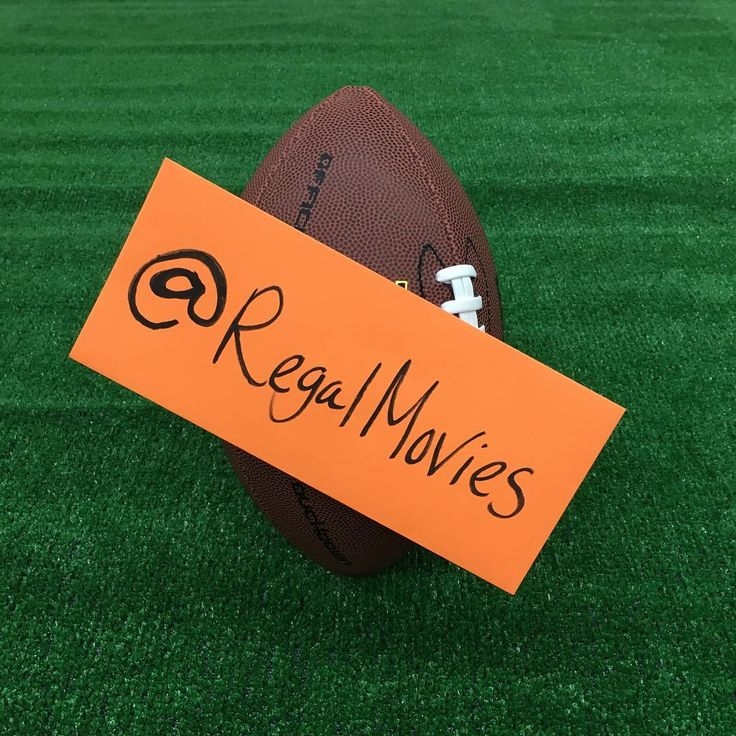 We're so pumped for the movie trailers dropping this Sunday we'll be tweeting live @regalmovies. And rumor has it there's some kind of football game happening too? 🎬🏈
