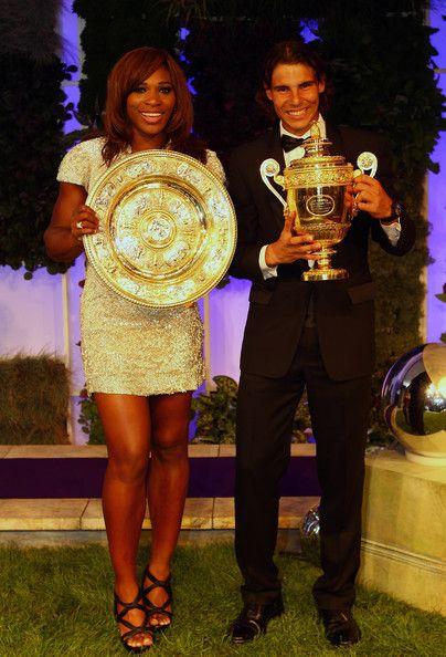 Rafael Nadal and Serena Williams - Wimbledon Championships 2010 Winners Ball.