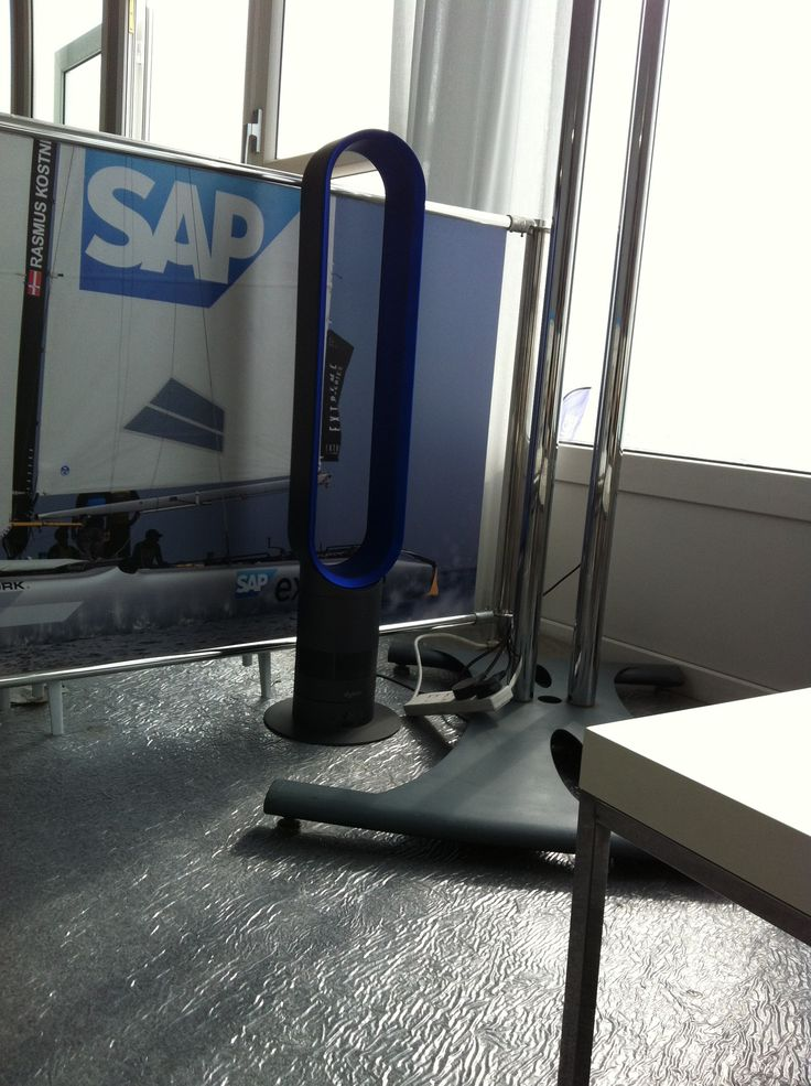 SAPs eventleute haben nen Dyson Ventilator. Das Ding ist laut und hat ne blöde Frequenz.