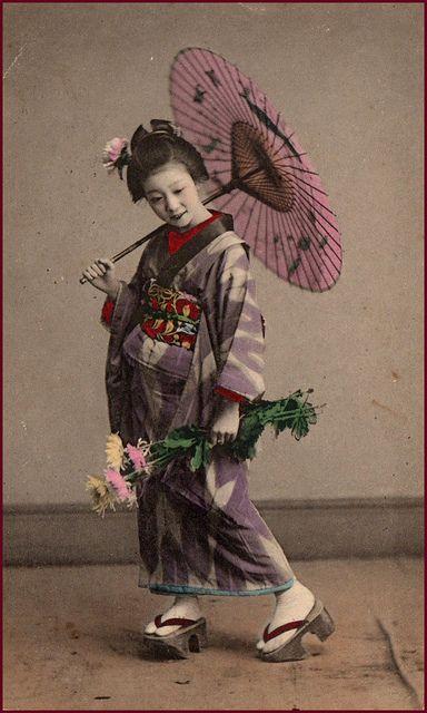 Vintage Japanese girl