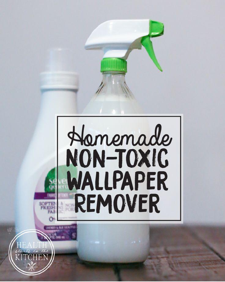 DIY: Homemade Non-Toxic Wallpaper Remover Spray ...