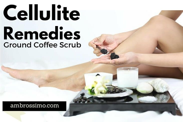 How to Get Rid of Cellulit naturally with coffee scrub