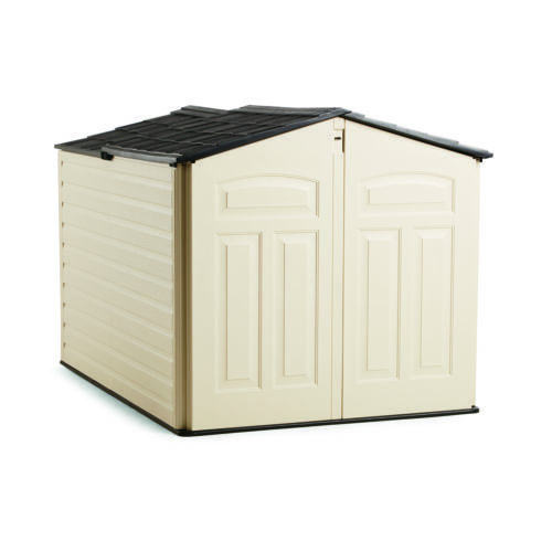Rubbermaid-96-Cubic-Feet-Low-Profile-Slide-Lid-Outdoor-Storage-Shed-1800005